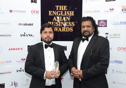 English Asian Award-Winner